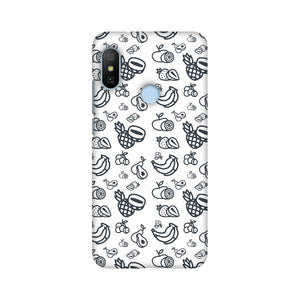 Phone Case for Xiaomi - Mixed Fruit White