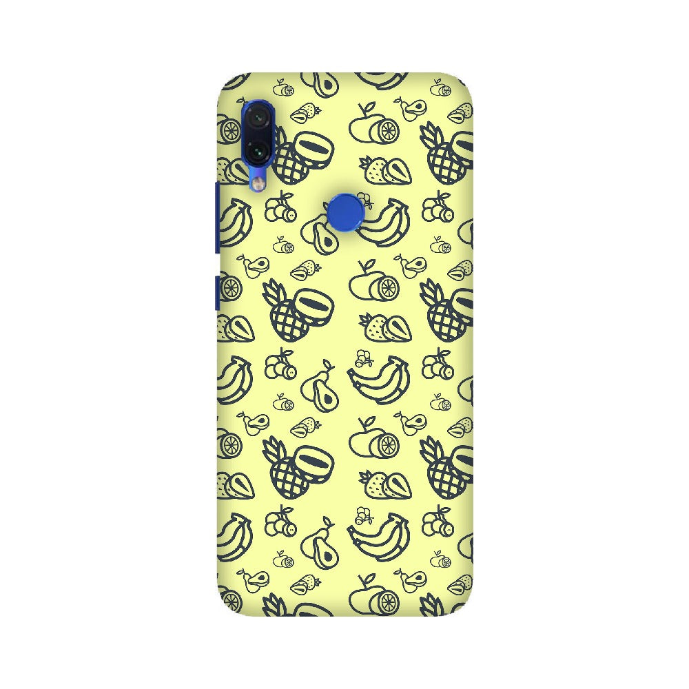 Phone Case for Xiaomi - Mixed Fruit Light Yellow