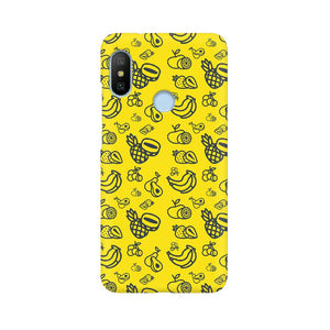 Phone Case for Xiaomi - Mixed Fruit Yellow