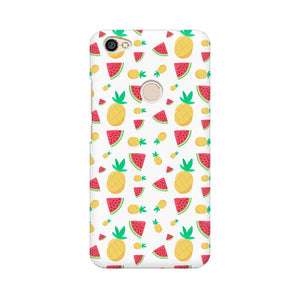 Phone Case for Xiaomi - Pineapple & Water Melon White