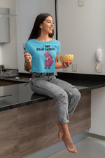 Load image into Gallery viewer, I Have Bean Thinking - Women's Crop Top