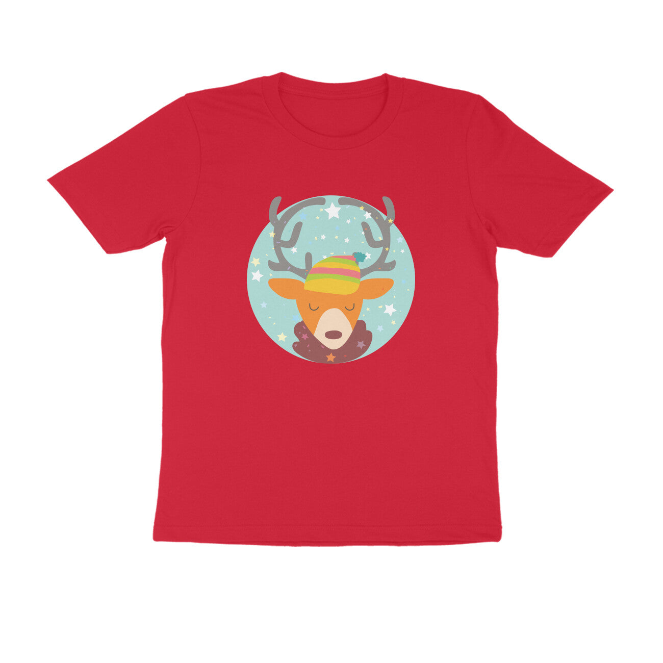 Christmas Reindeer -Tshirt for Men