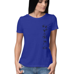 The Tropical Life - Women's Tshirts