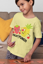 Load image into Gallery viewer, Fruit Punch - Kids Half Sleeve T-shirt