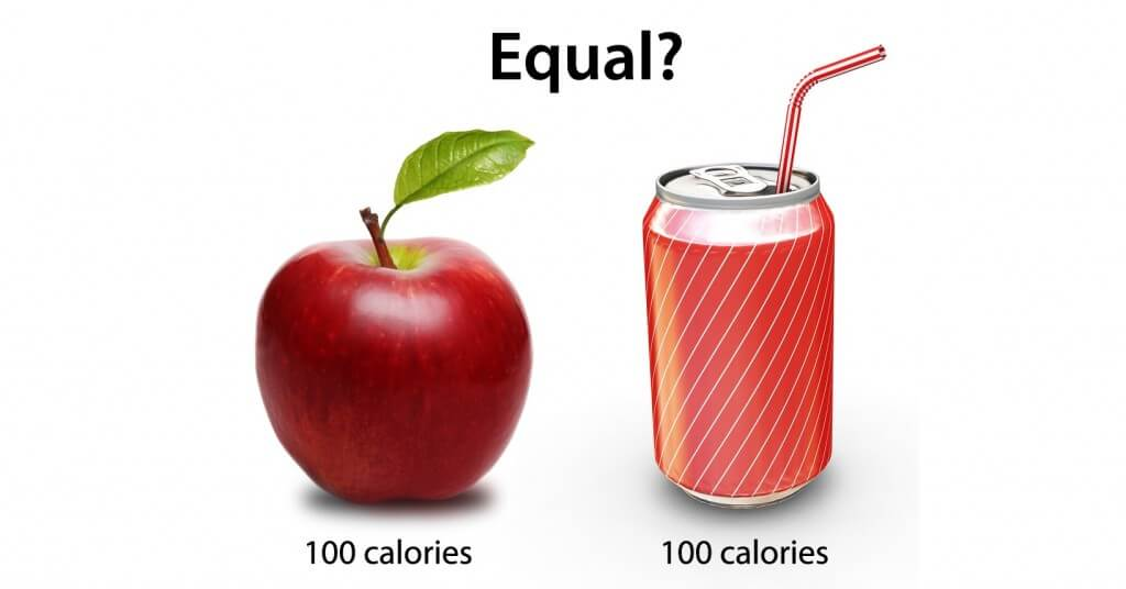 Different calories have a different metabolic effect