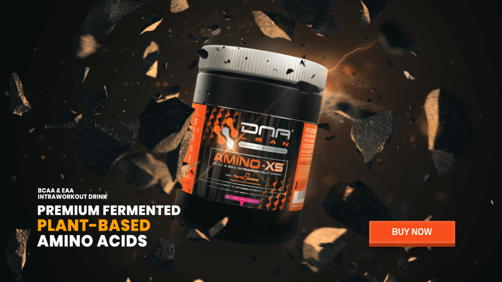 Amino-XS fermented plant based BCAA and EAA supplement