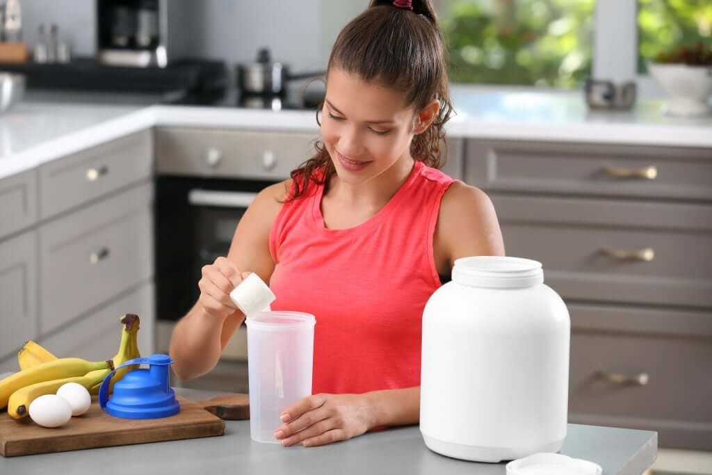 Protein powder supplements are suitable for both men and women