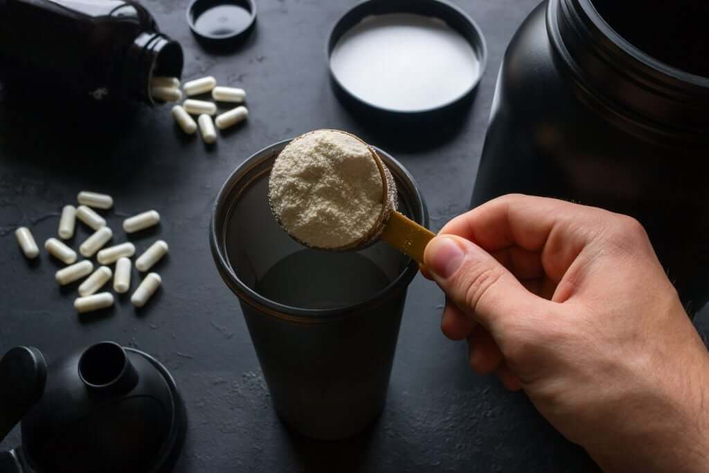 Protein powder supplements