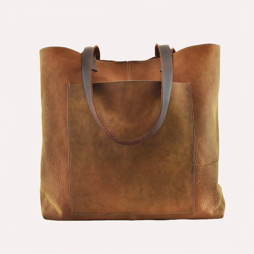 Kiko Leather - PCH Tote Brown