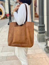 Load image into Gallery viewer, Kiko Leather - PCH Tote Brown