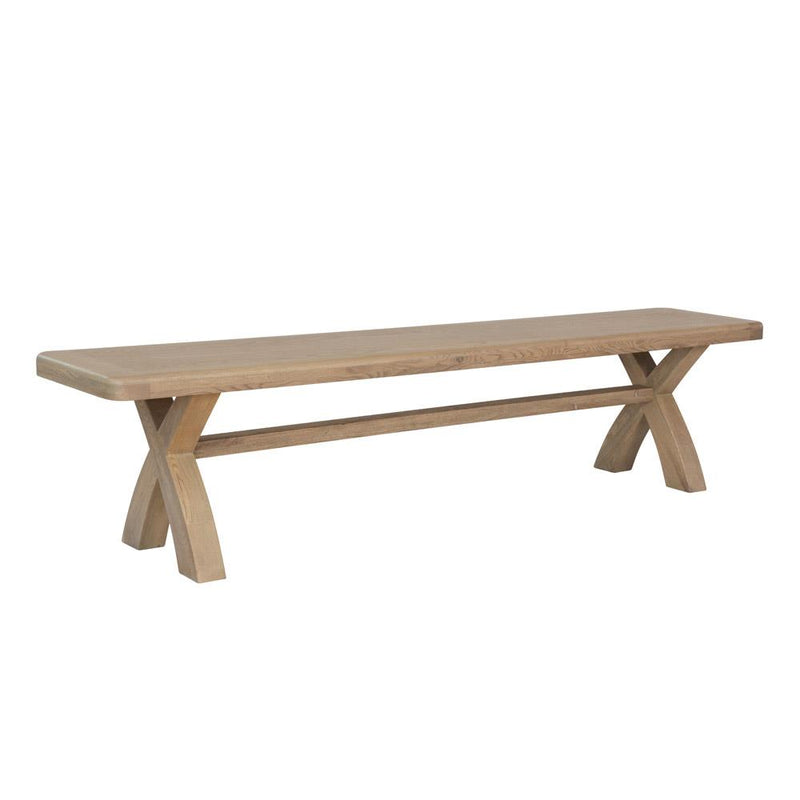 Camden 2m Cross Leg Dining Bench