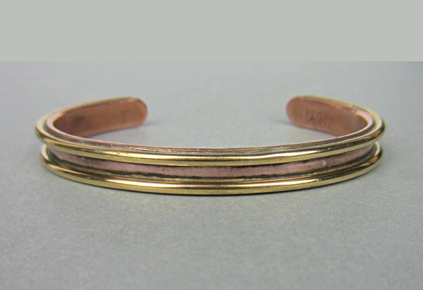 Cartier Sabona Cuff Bracelet 18k and Copper c. 1970