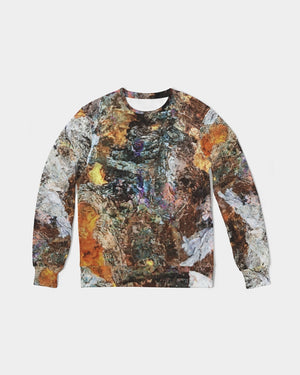 Golden Embers Men's Classic French Terry Crewneck Pullover