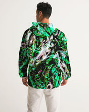 Load image into Gallery viewer, Cuyahoga River Men's Windbreaker