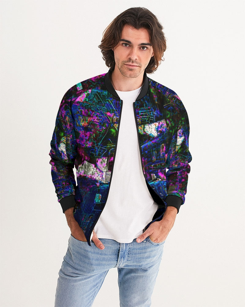 Purple City Men's Bomber Jacket