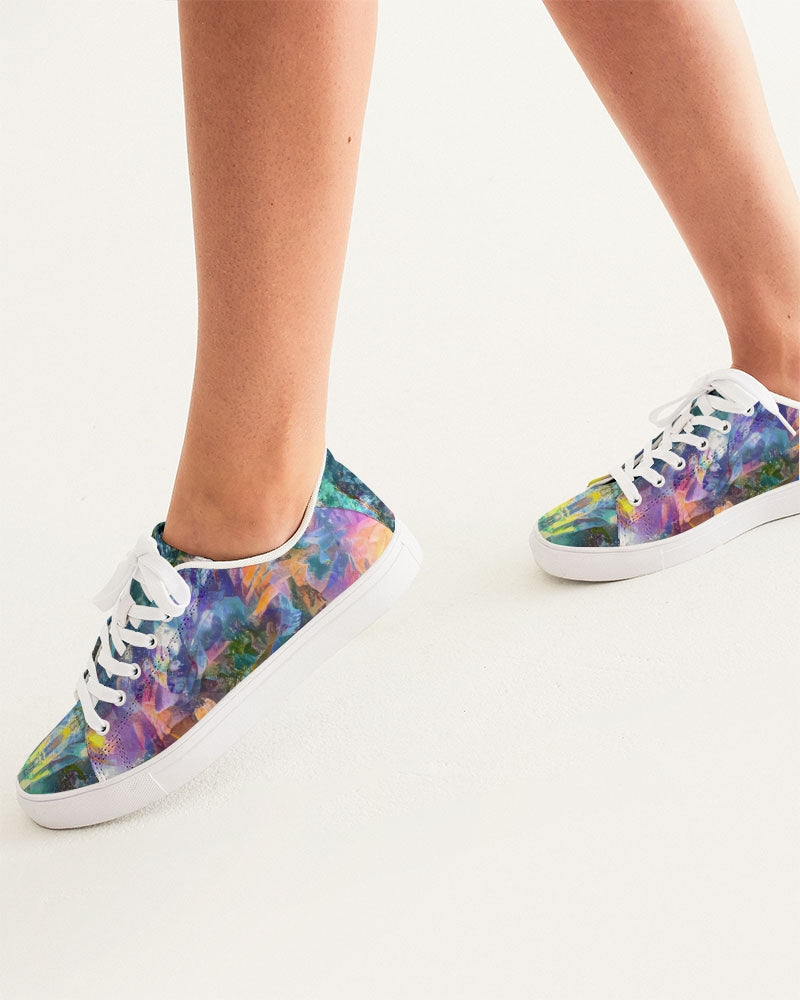 Crystal Visions Women's Faux-Leather Sneaker