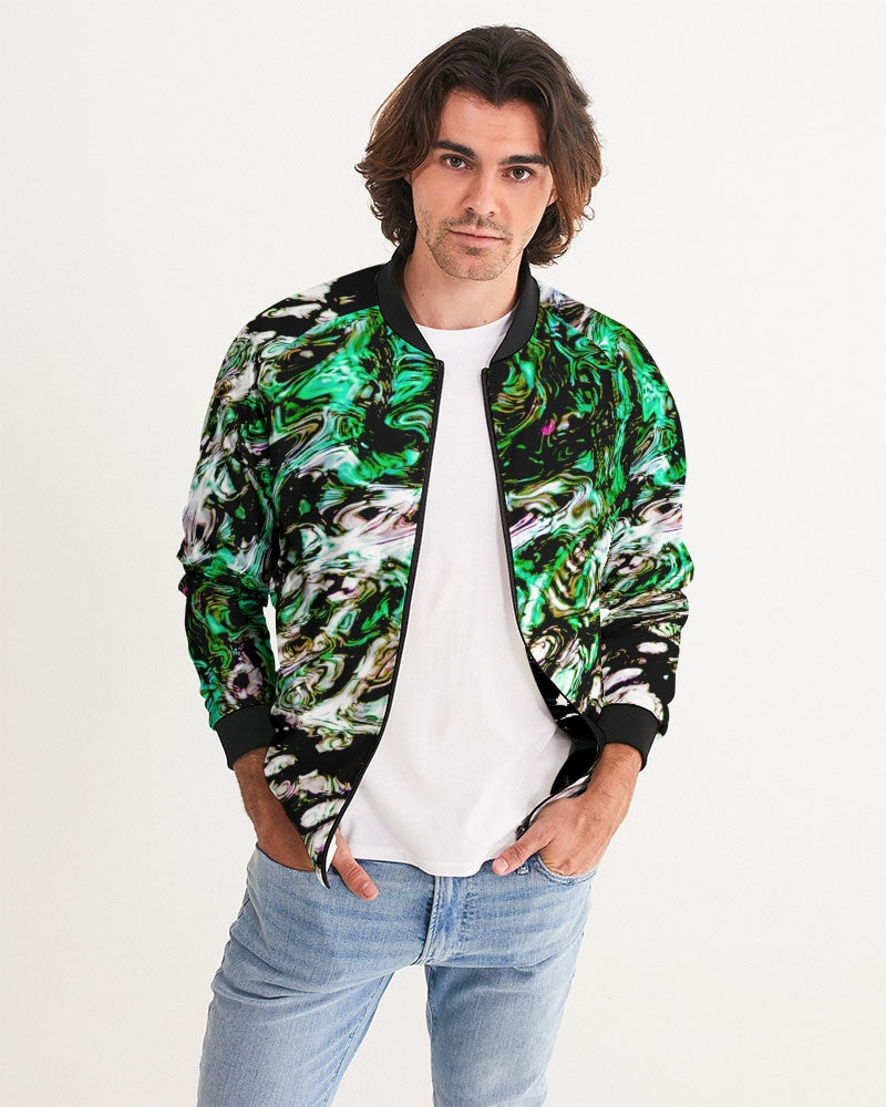 Cuyahoga River Men's Bomber Jacket