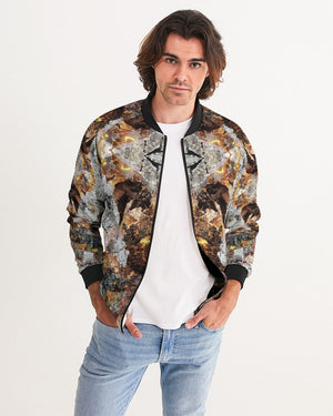Golden Embers Men's Bomber Jacket