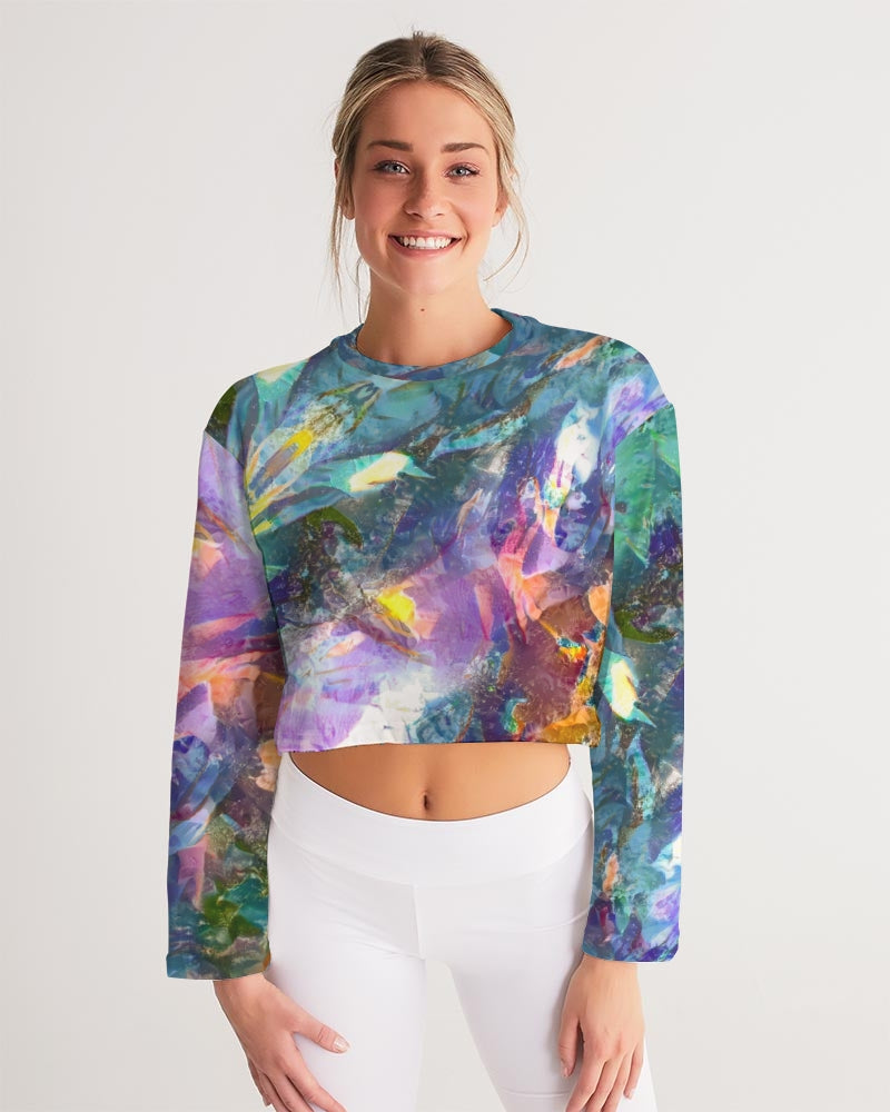 Crystal Visions Women's Cropped Sweatshirt