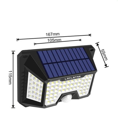 Solar Powered Path Lights LED Motion For Home
