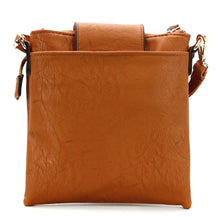 Jade Marie Curious Crossbody - Saddle