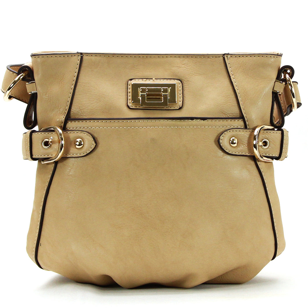 Jade Marie Charming Crossbody - Tan