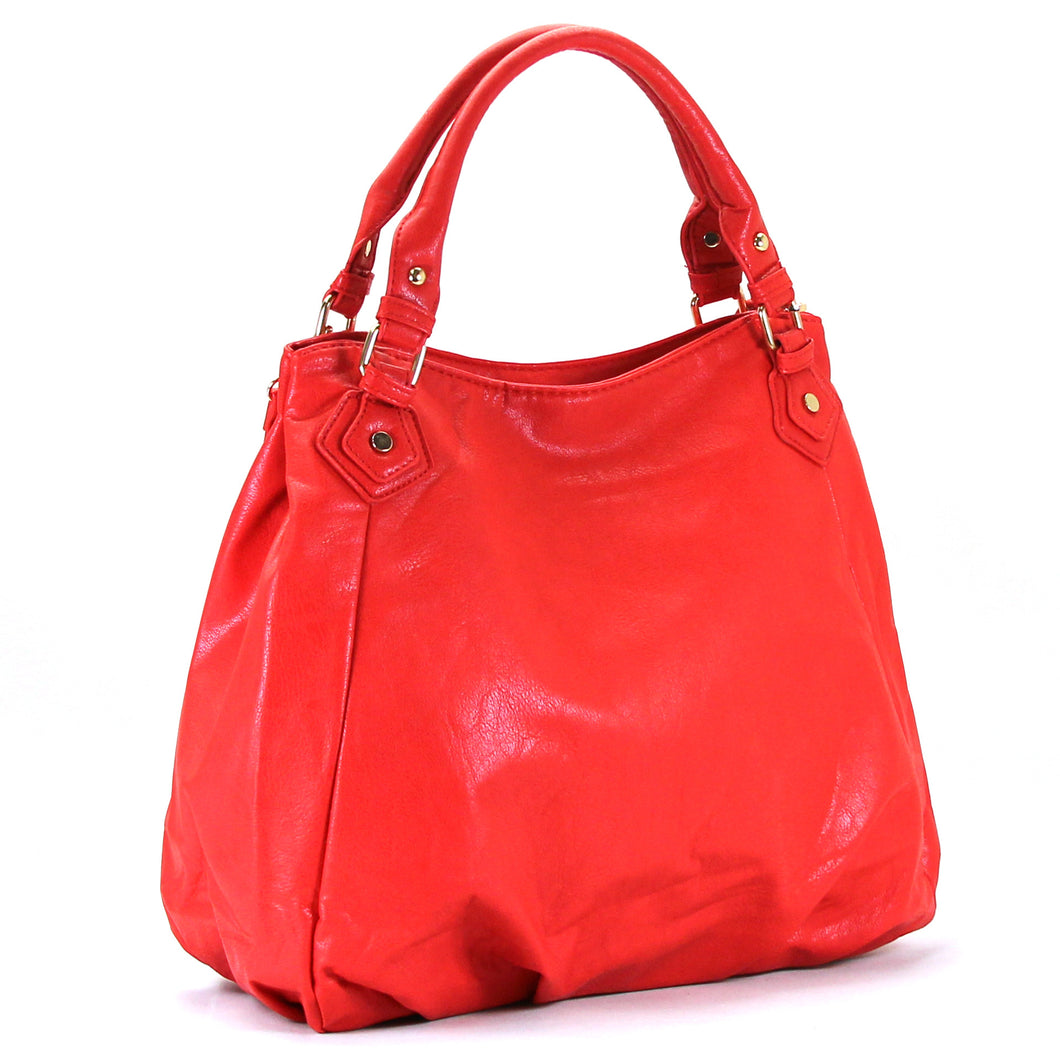 Jade Marie Fashion Tasteful Tote - Strawberry - Handbags & Accessories