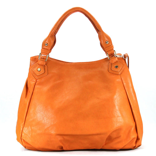 Jade Marie Fashion Tasteful Tote - Saddle - Handbags & Accessories