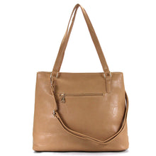 Jade Marie Fashion Sophisticated Tote - Toasted Khaki - Handbags & Accessories