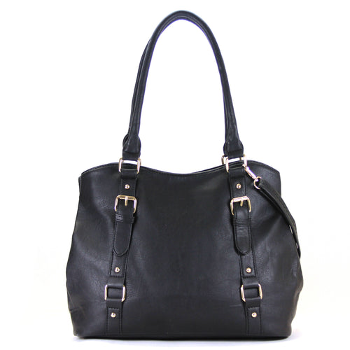 Jade Marie Fashion Inspirational Tote - Black - Handbags & Accessories
