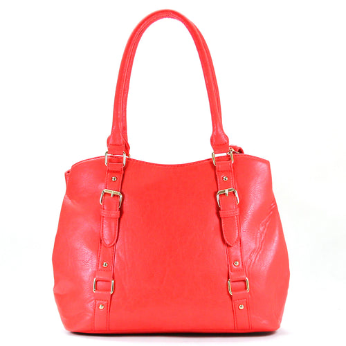 Jade Marie Fashion Inspirational Tote - Strawberry - Handbags & Accessories