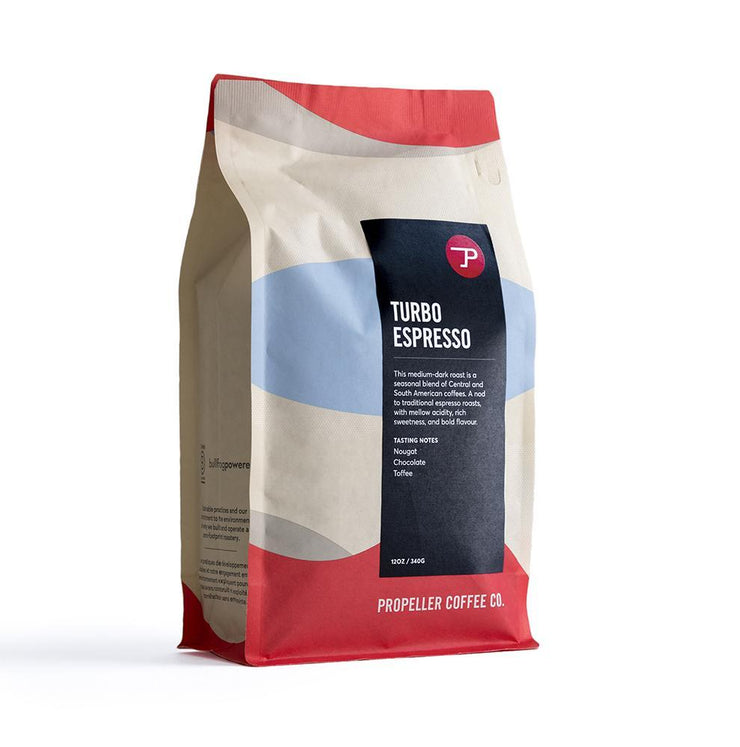 Turbo Coffee - Medium/Dark Roast - 340g