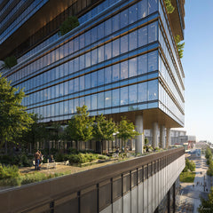 WaterStreet Tampa Project designed by Gensler