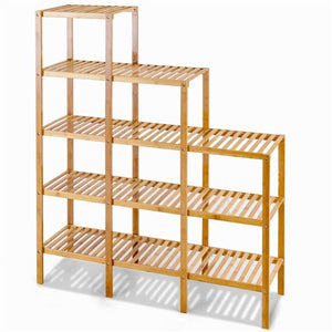 Lili Tiered Bamboo Bookcase