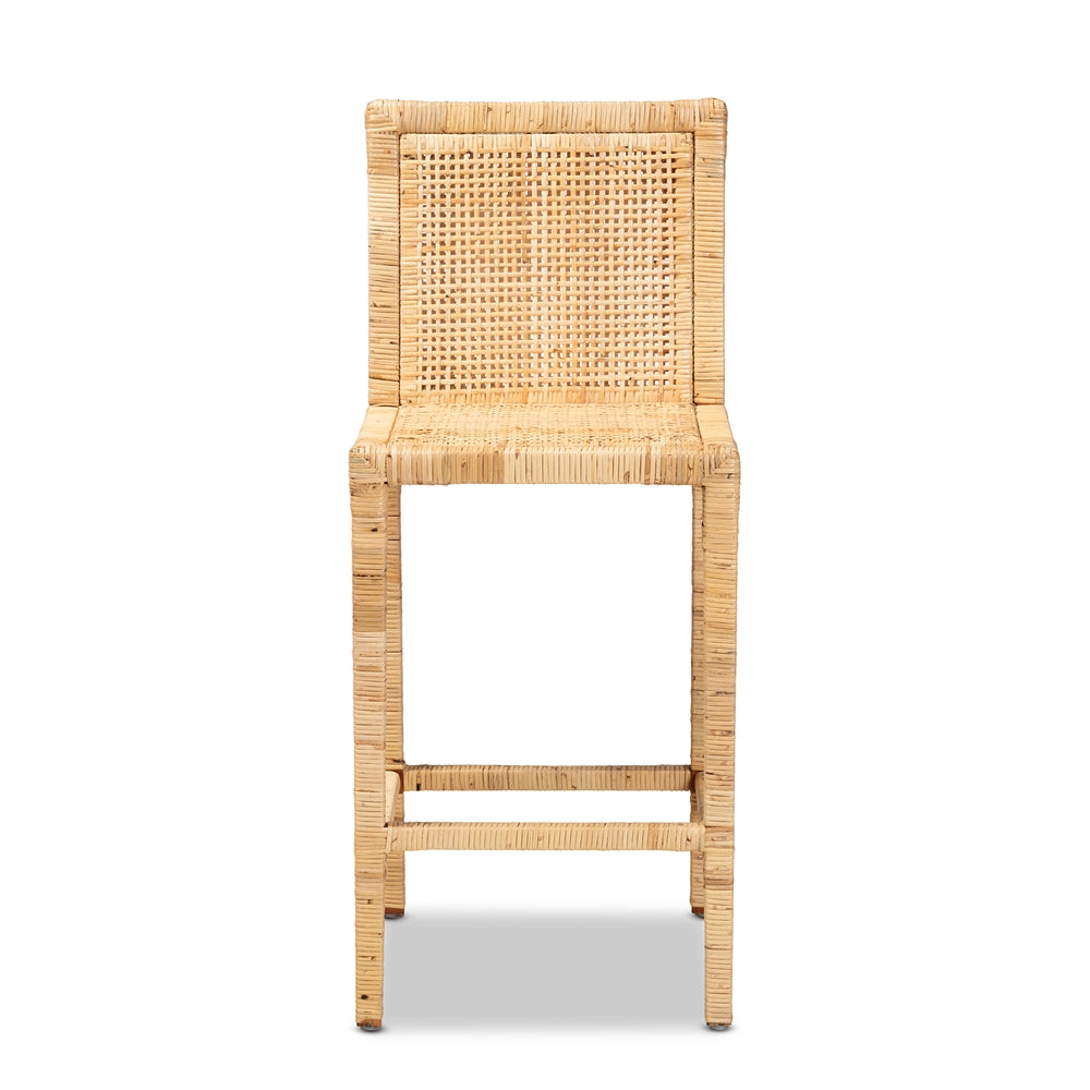 Sofia Rattan Counter Stool