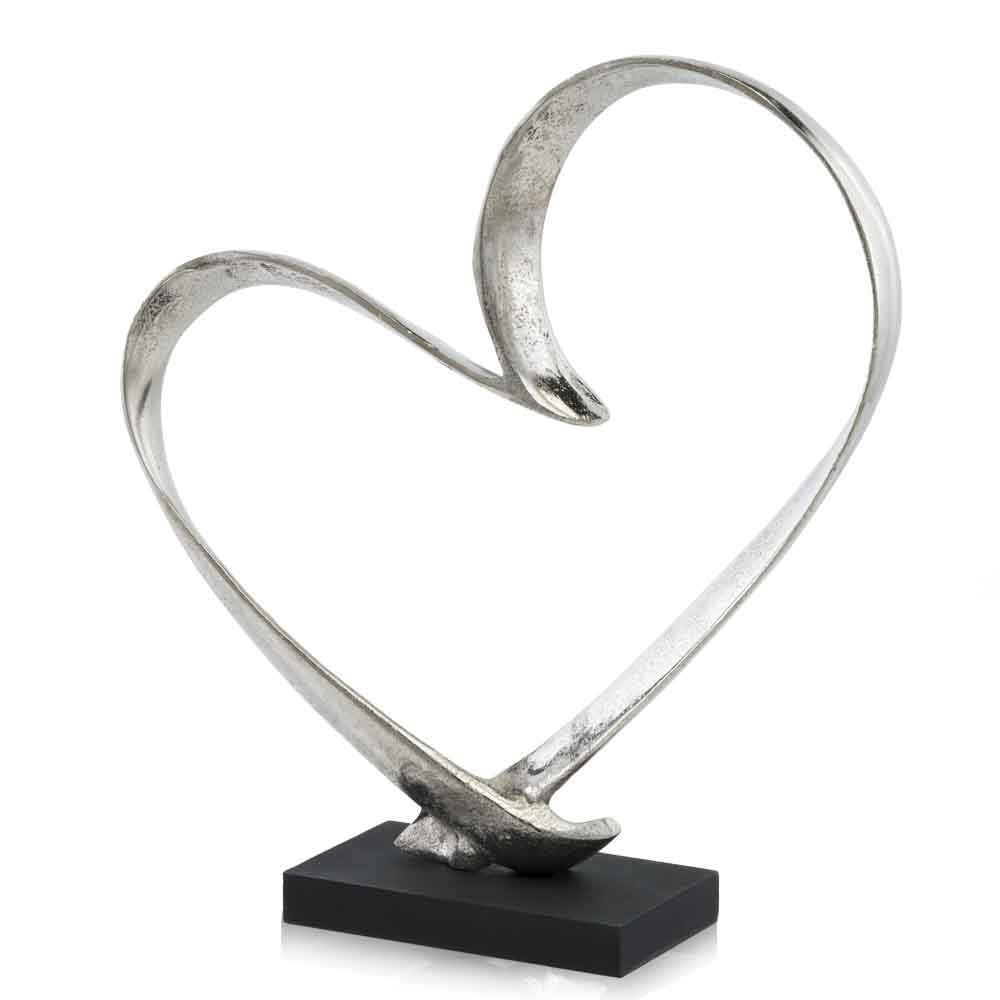 Raw Heart Sculpture