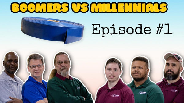 Boomers vs Millennials: Episode #1 (Discharge Hose)