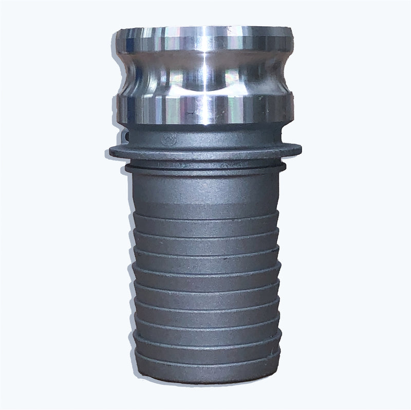 "AL-E400 (4"" Male Adapter x 4"" Hose Shank)"