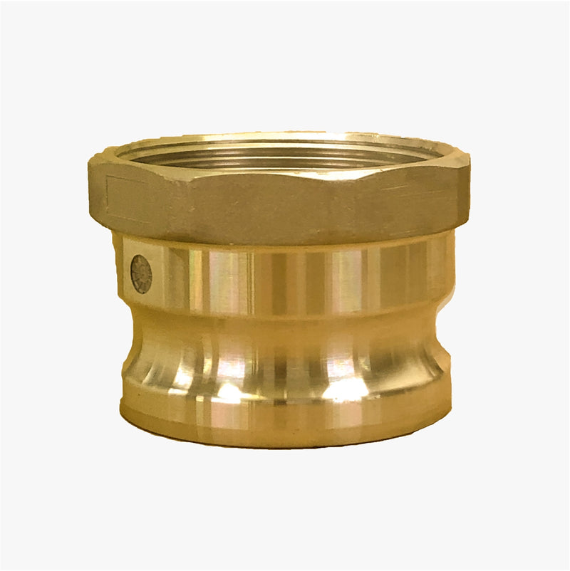 "BR-A250 (2 1/2"" Male Adapter x 2 1/2"" Female NPT Brass Adapter)"