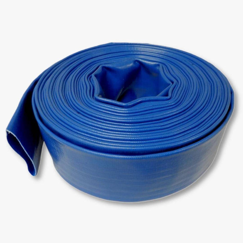 "Blue PVC Discharge Hose 04"" x 300' (Must Ship Freight)"