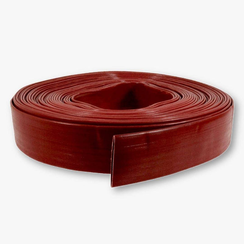 "Red PVC Discharge Hose 06"" x 050'"