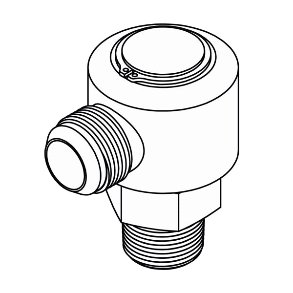 LS-2501 (JIC to Pipe Elbow 90 Swivel)