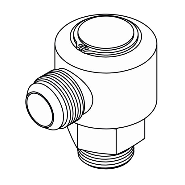 LS-6801 (JIC to O-Ring Elbow 90 Swivel)