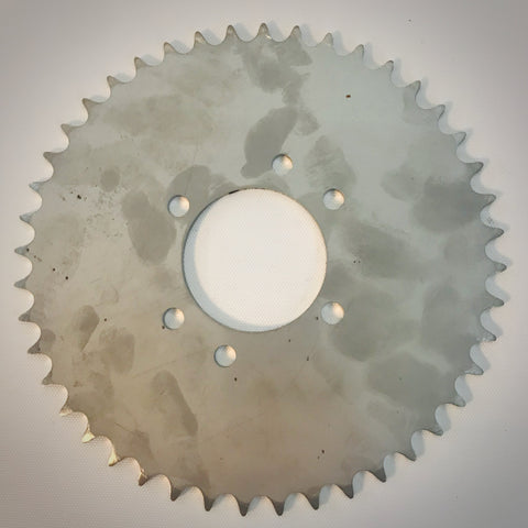 Pedicab Axle Sprocket 44 tooth - stainless steel $45