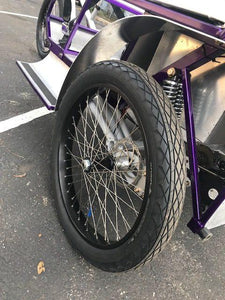 "Super-duty rear pedicab wheels - 26""  $160"