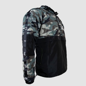 CUSTOM CAMO WINDBREAKER