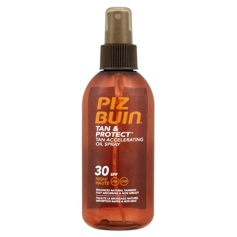 Tan & Protect Tan Accelerating Oil Spray Spf30 High 150Ml