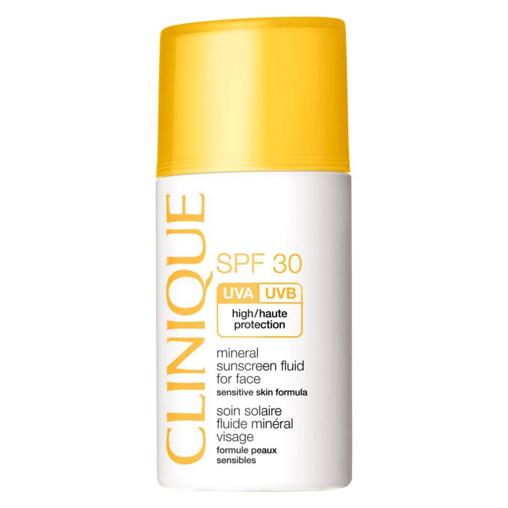 Mineral Sunscreen Fluid For Face Spf30 30Ml