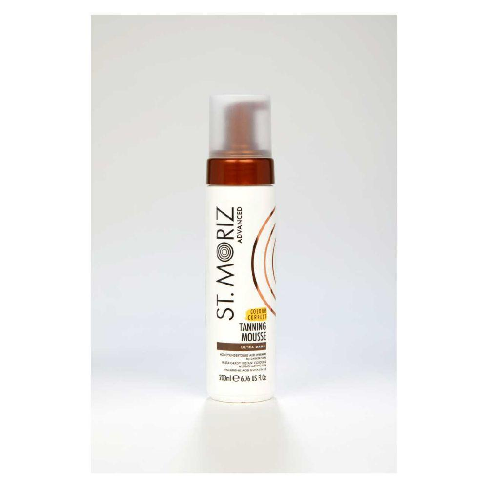 Advanced Colour Correcting Tanning Mousse Ultra Dark 200Ml