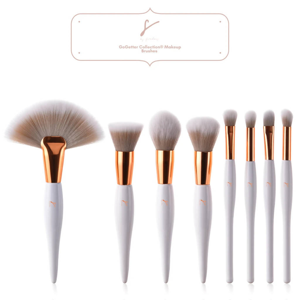 Signature Full-Face Makeup Brush Set & Bag